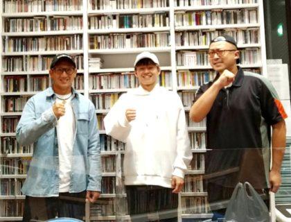 愛瑠斗選手 FMひがしくるめ85.4  旭のアキララバイ出演しました