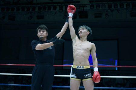 2021年5月30日(日)Krush125 愛瑠斗選手のプロ第3戦目   TKO 勝利